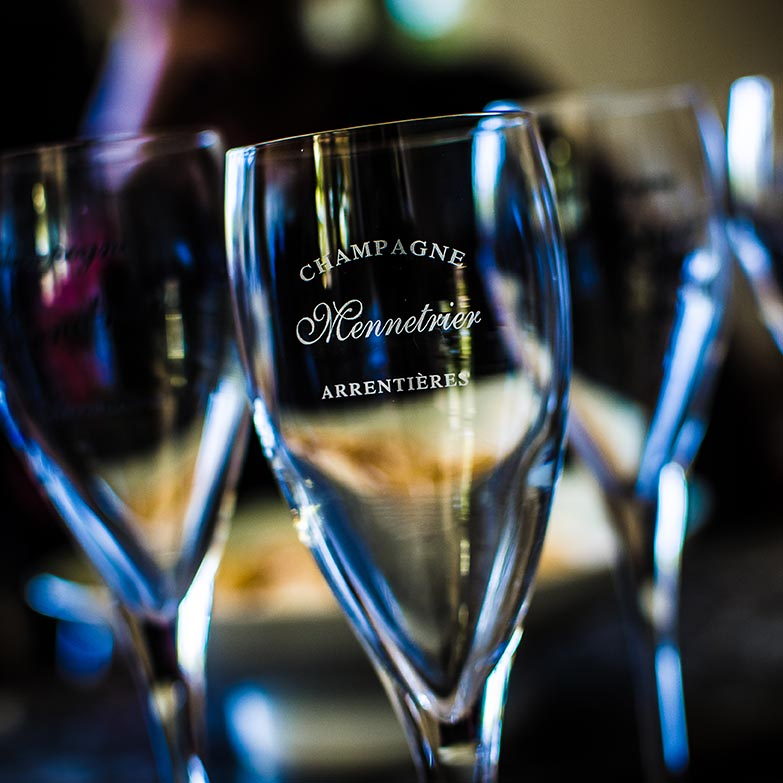 verre champagne mennetrier