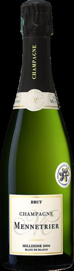 champagne mennetrier _millesime 2006