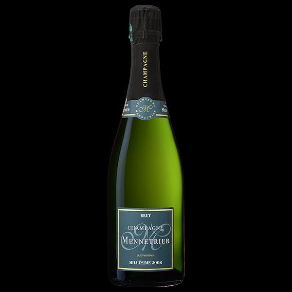 champagne mennetrier millesime 2008