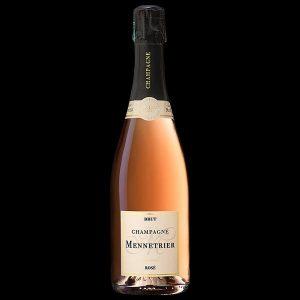 champagne mennetrier rosé